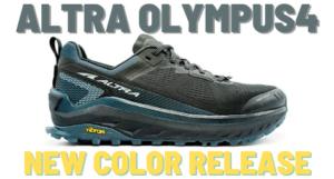 ALTRA OLYMPUS4 人気のトレイルシューズ・オリンパスに新色追加&スタッフレビュー