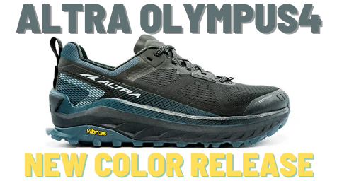 ALTRA OLYMPUS4 新色のブラックスティールカラー